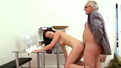 Stunning russian honey fucks hard till climax
